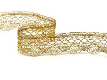 Bobbin lace No. 82216 gold | 30 m - 2
