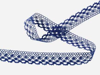Bobbin lace No. 82222  dark blue | 30 m - 2