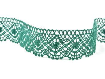 Bobbin lace No. 82231 dark green | 30 m - 2