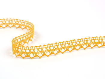 Bobbin lace No. 82302 dark yellow | 30 m - 2