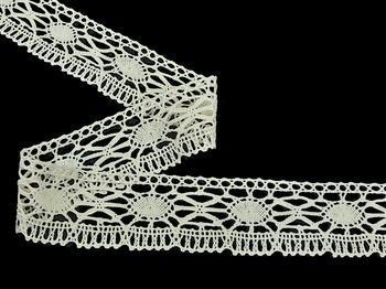Bobbin lace No. 82335 ecru | 30 m - 2