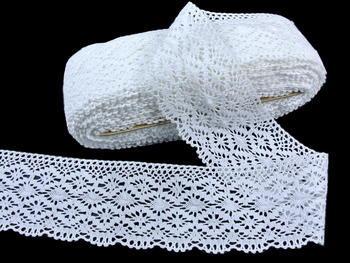 Bobbin lace No.82336 white | 30 m - 2