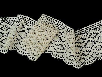 Bobbin lace No.82336 ecru | 30 m - 2