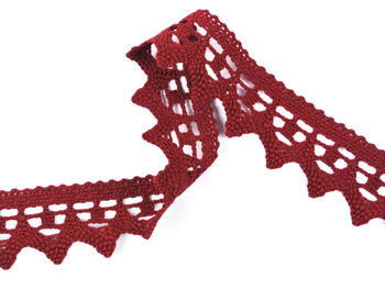 Bobbin lace No. 82341 red bilberry | 30 m - 2