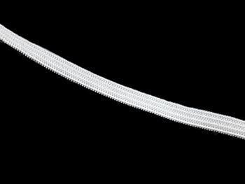 Pletená pruženka roušková 75644 bílá | 25 m - 2