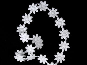 Vzdušná krajka vzor 66003 bílá | 9,2 m - 3
