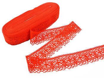 Bobbin lace No. 75037 red | 30 m - 3