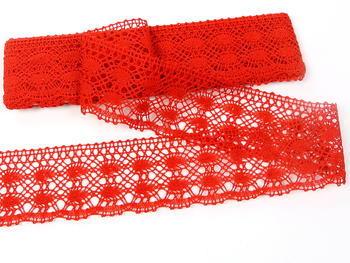 Bobbin lace No. 75076 red | 30 m - 3
