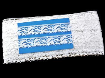 Paličkovaná krajka 75107 bavlněná, šířka24 mm, bílá - 3