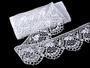 Bobbin lace No. 75116 white | 30 m - 3/5
