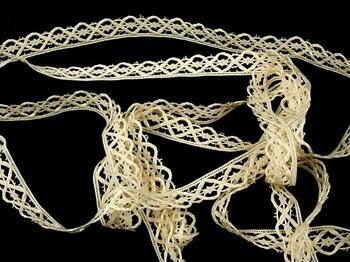 Bobbin lace No. 75124 ecru | 30 m - 3