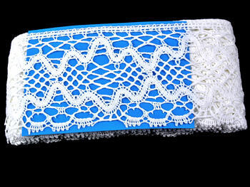 Bobbin lace No. 75127 white | 30 m - 3