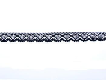 Bobbin lace No. 75133 black | 30 m - 3