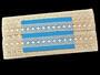 Paličkovaná vsadka vzor 75159 režná | 30 m - 3/3
