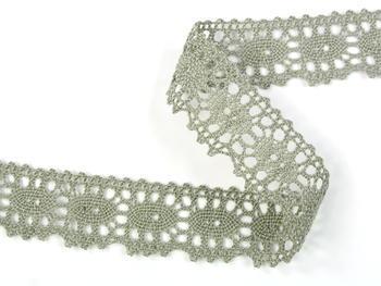 Bobbin lace No. 75187 dark linen | 30 m - 3