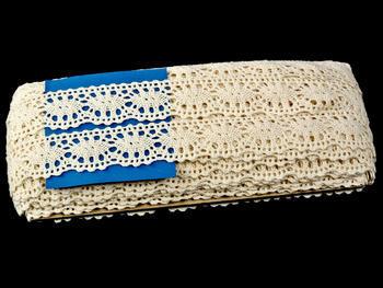 Bobbin lace No. 75187 ecru | 30 m - 3