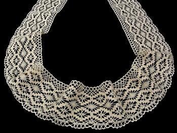 Cotton bobbin lace 75188, width 100 mm, ecru - 3