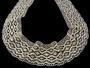 Cotton bobbin lace 75188, width 100 mm, ecru - 3/4