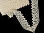 Bobbin lace No. 75234 ecru | 30 m - 3/6