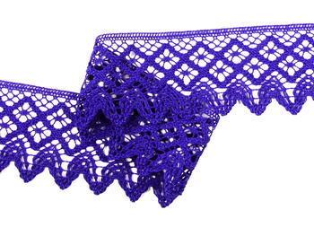 Paličkovaná krajka vzor 75234 purpurová | 30 m - 3