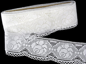 Bobbin lace No.75237 white | 30 m - 3