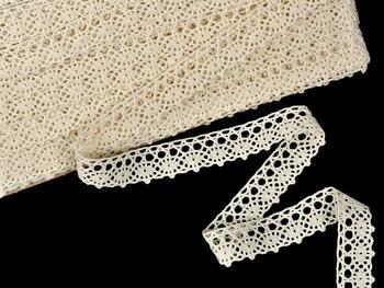Bobbin lace No. 75239 ecru | 30 m - 3