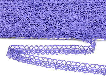 Paličkovaná krajka vzor 75244 purpurová II. | 30 m - 3