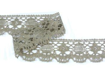 Bobbin lace No. 75253 natural linen | 30 m - 3
