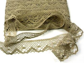 Bobbin lace No. 75261 natural linen | 30 m - 3