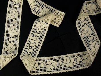 Bobbin lace No. 75269  ecru | 30 m - 3
