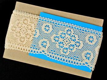 Bobbin lace No. 75277 ecru | 30 m - 3