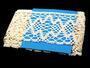 Cotton bobbin lace 75127, width120 mm, ecru - 3/3