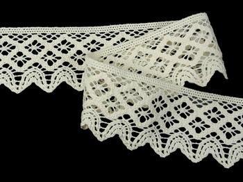 Bobbin lace No. 75293 ecru | 30 m - 3