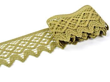 Bobbin lace No. 75293 green | 30 m - 3