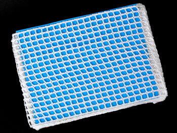 Paličkovaná vsadka vzor 75309 bílá | 30 m - 3