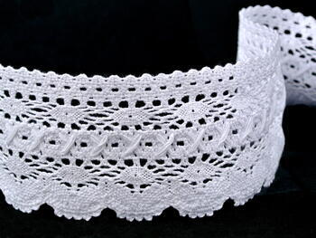 Bobbin lace No. 75335 white | 30 m - 3