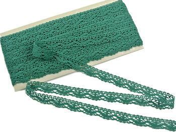 Bobbin lace No. 75395 dark green | 30 m - 3