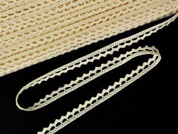 Cotton bobbin lace 75397, width 9 mm, ecru - 3