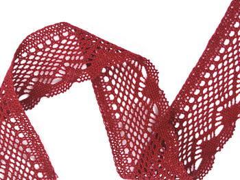 Bobbin lace No. 75414 red bilberry | 30 m - 3