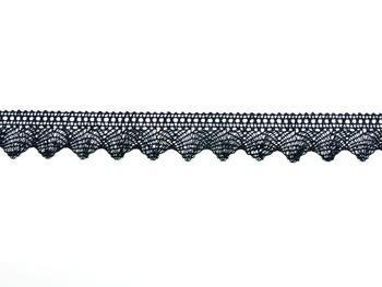 Bobbin lace No. 75518 black | 30 m - 3