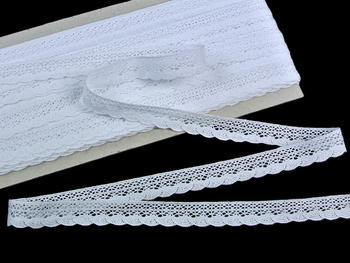 Bobbin lace No. 75549 white | 30 m - 3