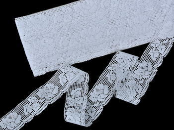 Bobbin lace No. 75591 white | 30 m - 3
