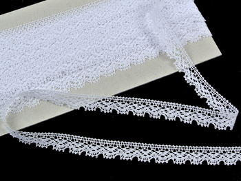Bobbin lace No. 75607 white | 30 m - 3