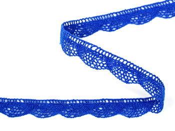 Bobbin lace No. 75629 royal blue | 30 m - 3
