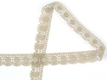 Bobbin lace No. 81014 light linen | 30 m - 3
