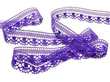 Bobbin lace No. 81017 purple | 30 m - 3