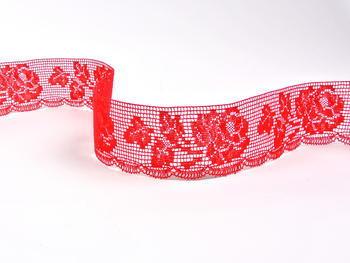 Bobbin lace No. 81094 light red | 30 m - 3