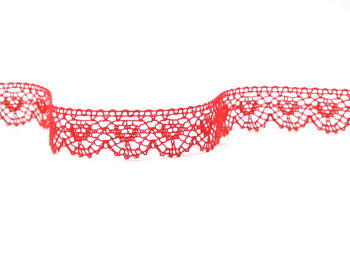 Bobbin lace No. 81128 light red | 30 m - 3