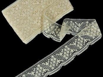 Bobbin lace No. 81232 ecru | 30 m - 3
