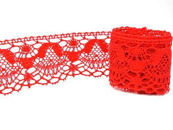 Bobbin lace No. 81289 red | 30 m - 3